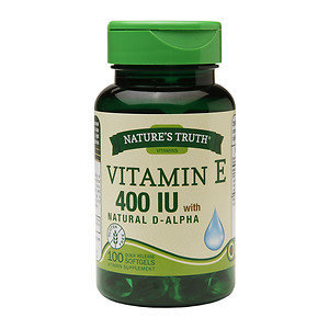Nature's Truth Vitamin E 400 IU with Natural D-Alpha, 100 ea