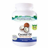 Fruitrients X Coconut Oil, 240 Softgels, Ultra Laboratories