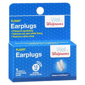 Walgreens Ear Flight Protective Plugs, 1 ea