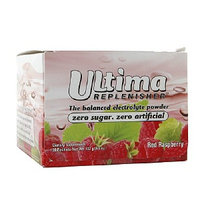Ultima Replenisher Electrolyte Drink Mix, Red Raspberry, 30 ct
