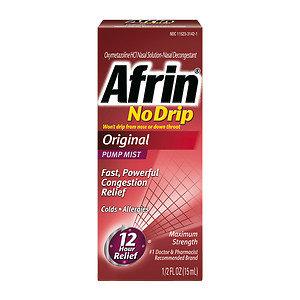 Afrin No Drip Original, .5 oz