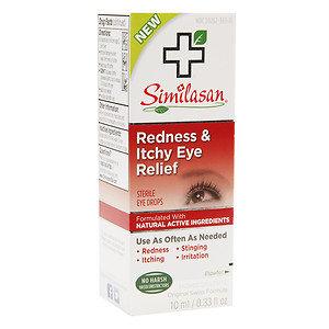 Similasan Redness & Itchy Eye Relief, .33 fl oz