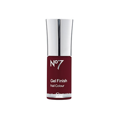 Boots No7 Gel Finish, Deep Wine, .33 oz