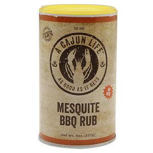 A Cajun Life Rub, Mesquite BBQ, 8 oz