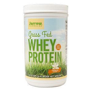 Jarrow Formulas Grass Fed Whey Protein Vanilla 15 Servings