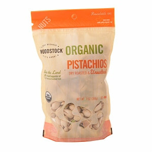 Woodstock Farms Pistachios Rns 8-Ounce -Pack of 8