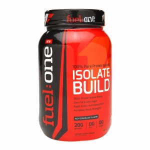 Fuel One - Isolate Build 100% Pure Protein Isolate Rich Chocolate - 3 lbs.