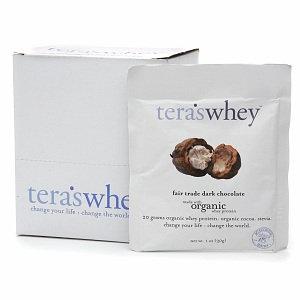 Teras Whey B46015 Teras Whey Dark Chocolate Fair Trade Whey Protein -12x1oz