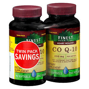 Finest Natural CoQ10 200 mg, 2 pk, 90 ea