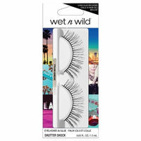 Wet 'n' Wild Wet n Wild Eyelashes & Glue, Shutter Shock, 1 ea