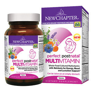 New Chapter Perfect Postnatal Multivitamin