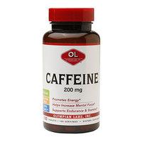 Olympian Labs Caffeine 200mg, 100 ea