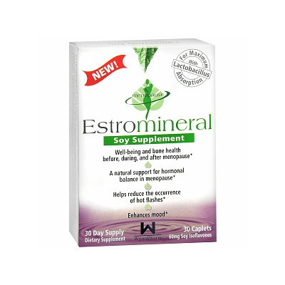 Wynnpharm Estromineral Soy Supplement, 30 Each