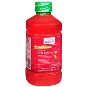 Walgreens Pediatric Electrolyte Oral Maintenance Solution, Cherry Punch, 33.8 fl oz