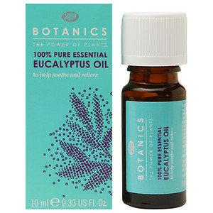 Boots Botanics 100% Pure Essential Eucalyptus Oil, .33 oz