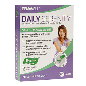 Evalar FEMiWELL Daily Serenity Stress Management, 60 ea