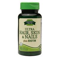 Nature's Truth Ultra Hair, Skin & Nails Plus Biotin, 60 ea