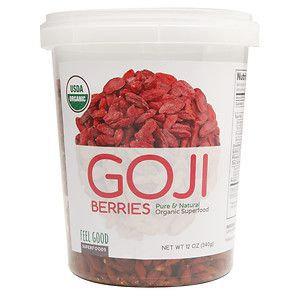 Feel Good Superfoods Goji Berries, 12 oz