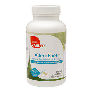 Zahler AllergEase, Advanced Formula for Allergy Relief, 180 capsules