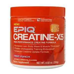 EPIQ CREATINE-X5 - Fruit Punch