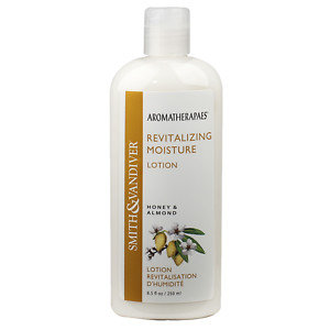 Smith & Vandiver Aromatherapaes Moisture Lotion, Honey & Almond, Revitalizing, 8.5 fl oz