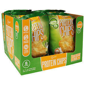Quest Nutrition Protein Chips Sour Cream & Onion 8 Bags