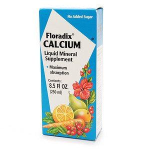 Flora Floradix Calcium Liquid - 8.5 fl oz