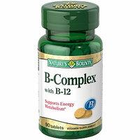 Nature's Bounty B-Complex + B-12 Vitamin 90 Tablets