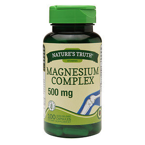 Nature's Truth Magnesium Complex 500mg, 100 ea
