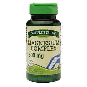 Nature's Truth Magnesium Complex 500mg, 100 ea