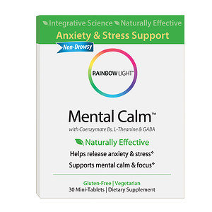 Rainbow Light - Mental Calm - 30 Mini-Tabs