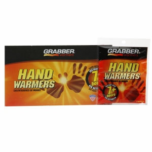 Grabber Warmers 7+ Hour Hand Warmer (40 Pair Box), 40 pr