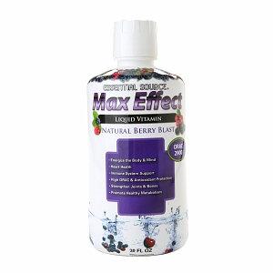 Essential Source Max Effect Liquid Multivitamin Berry Blast