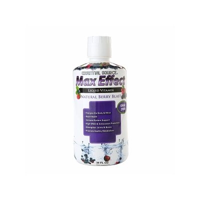 Essential Source Max Effect Liquid Multivitamin Berry Blast