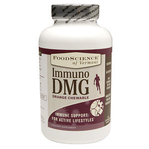 FoodScience of Vermont Immuno DMG Orange Chewable, 90 Chewable Tablets