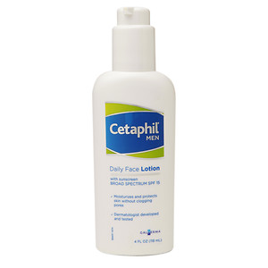 Cetaphil Men Daily Face Lotion with Broad Spectrum SPF 15, 4 oz