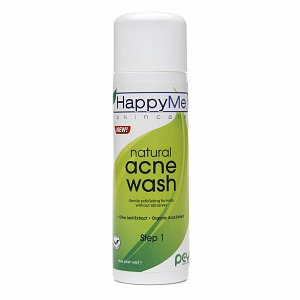 Happy Me Skincare Natural Acne Wash Step 1