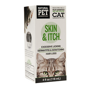 Natural Pet Pharmaceuticals Cat Homeopathic Skin & Itch
