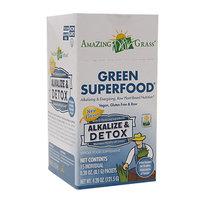 Amazing Grass Green SuperFood Alkalize & Detox 15 Packets - Vegan
