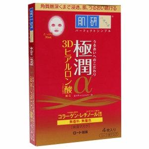 Hada Labo Gokujyun Alpha Mask, 4 ea