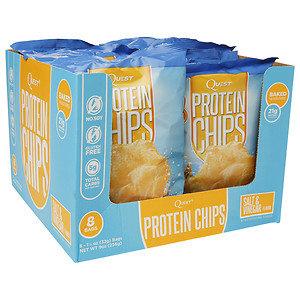 Quest Nutrition Protein Chips Salt & Vinegar 8 Bags
