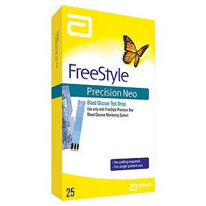 FreeStyle Precision Neo Test Strip, 25 ea