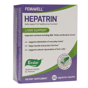 Evalar FEMiWELL Hepatrin Liver Support, 60 ea