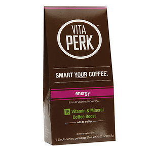 VitaPerk - Vitamin and Mineral Coffee Boost Energy Blend - 7 Packets