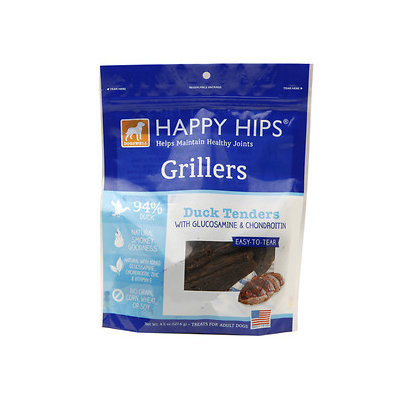 Dogswell DG47267 Happy Hips Grillers Duck - 4.5 Oz
