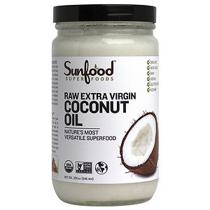 Sunfood Superfoods Extra Virgin Coconut Oil, 32 oz