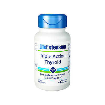 Life Extension Triple Action Thyroid, 60 ea