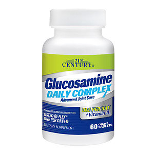 21st Century Glucosamine Daily Complex One Per Day + D3, 60 ea