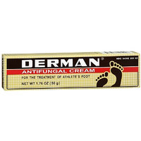 Derman Antifungal Cream, 1.76 Ounces