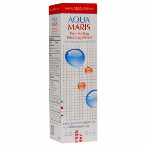 Aqua Maris Fast Acting Decongestant, .33 fl oz